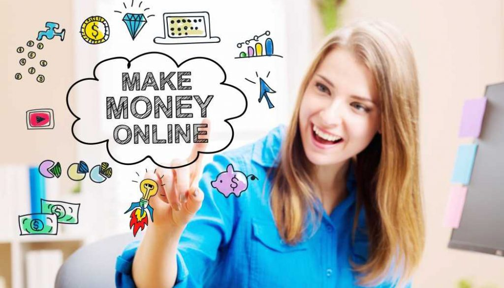 generate money online