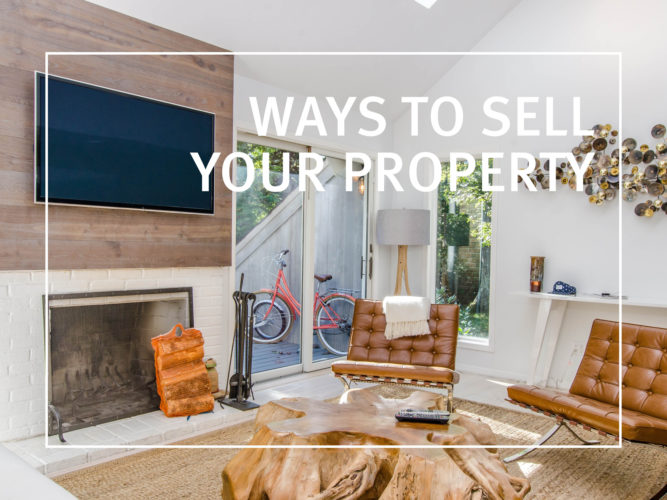 Ways to Sell Property