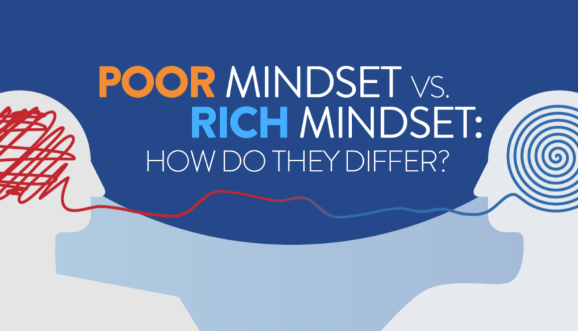 Rich People's Mindset Vs Poor People's Mindset