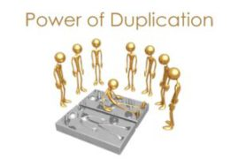 Power of Duplication in Network Marketing